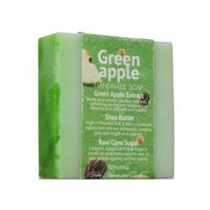 Buy Nyassa Green Apple Sugar Soap - Nykaa