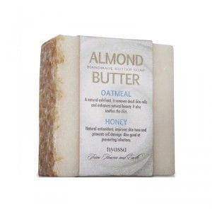 Buy Nyassa Almond Butter Soap - Nykaa
