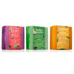Buy Nyassa Fruity Soaps Combo (Pack of 3) - Nykaa