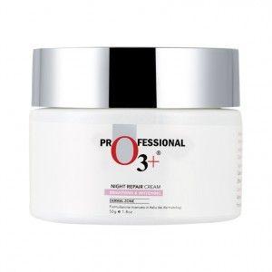 Buy O3+ Skin Care Night Repair Cream Brightening & Whitening Derma Zone - Nykaa