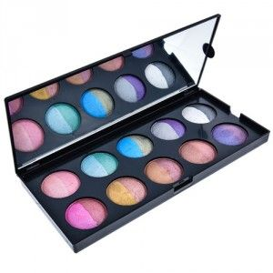 Buy GlamGals 20 Color Baked Eyeshadow Palette - Nykaa