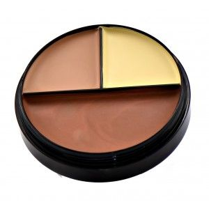 Buy GlamGals Matte Finish Waterproof Trio Concealer Palette - Nykaa