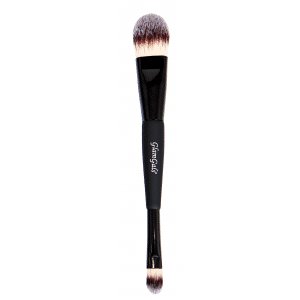 Buy GlamGals Black Double Ended Foundation /Concealer Brush - Nykaa