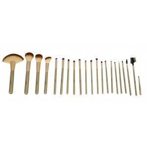 Buy GlamGals 22Pcs Brush Set - Gold - Nykaa