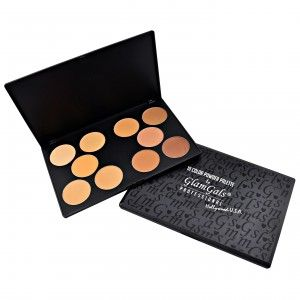 Buy GlamGals 10 Color Powder Palette - Nykaa