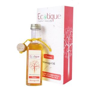 Buy Ecotique Massage Oil Detox - Nykaa