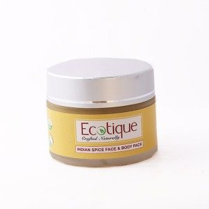 Buy Ecotique Indian Spice Face & Body Pack - Nykaa
