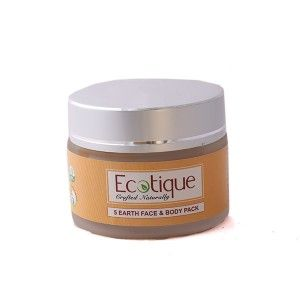 Buy Ecotique 5 Earth Face & Body Pack - Nykaa
