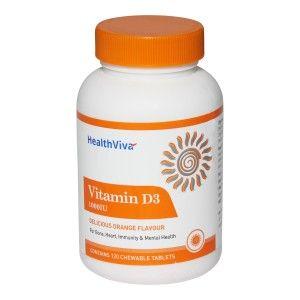 Buy HealthViva Vitamin D3 - Nykaa