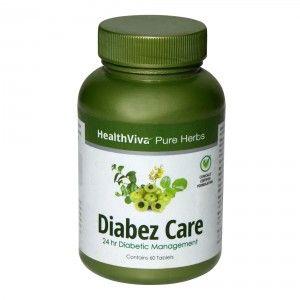 Buy HealthViva Pure Herbs Diabez Care - Nykaa