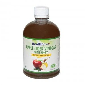 Buy HealthViva Apple Cider Vinegar With Honey - Nykaa
