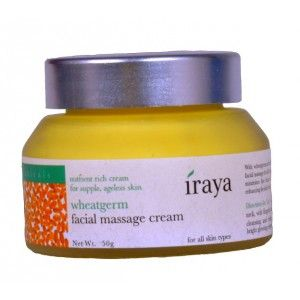 Buy Iraya Wheatgerm Facial Massage Cream - Nykaa