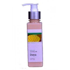 Buy Iraya Lotus Seed Cleansing Milk - Nykaa