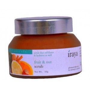 Buy Iraya Fruit & Nut Scrub - Nykaa