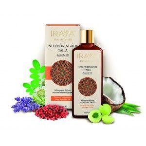 Buy Iraya Cold Pressed Neelbhringadi Ayurvedic Taila - Nykaa