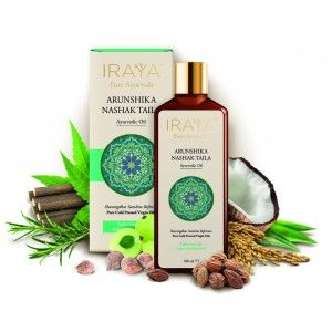 Buy Iraya Cold Pressed Arunshika Nashak Ayurvedic Taila - Nykaa