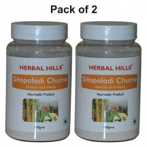 Buy Herbal Hills Sitopaladi Churna - Nykaa