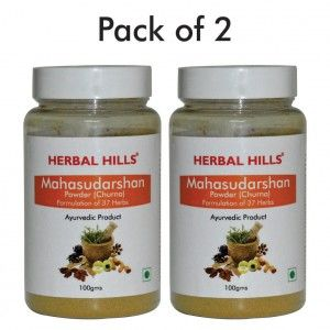 Buy Herbal Hills Mahasudarshan Churna - Nykaa