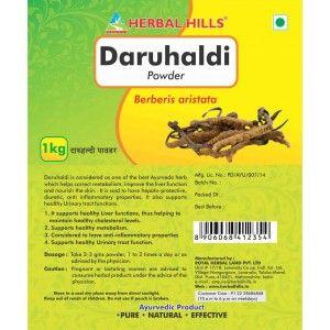 Buy Herbal Hills Daruhaldi Powder - Nykaa