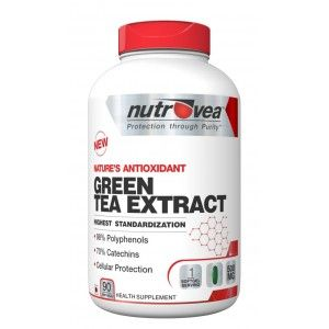 Buy Nutrovea Green Tea Extract Fatloss + Detox - Nykaa