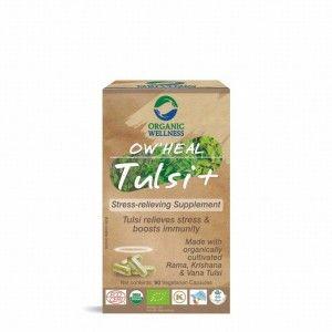 Buy Organic Wellness Heal Tulsi+ (Stress-Relieving Supplement) - Nykaa