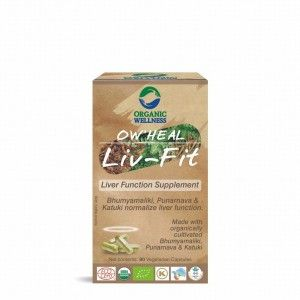 Buy Organic Wellness Heal Liv-Fit (Liver Function Supplement) - Nykaa