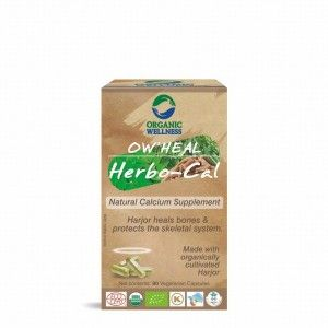 Buy Organic Wellness Heal Herbo-Cal (Natural Calcium Supplement) - Nykaa