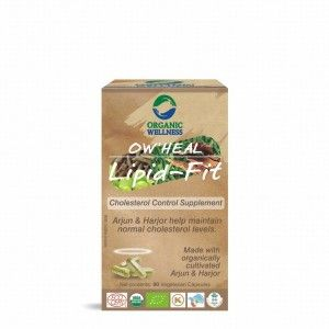 Buy Organic Wellness Heal Lipid-Fit (Cholesterol Control Supplement) - Nykaa
