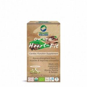 Buy Organic Wellness Heal Heart-Fit (Cardiac Function Supplement) - Nykaa
