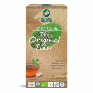 Buy Organic Wellness Real The Original Tulsi Tea - Nykaa