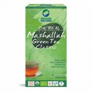 Buy Organic Wellness Real Mashallah Green Tea Classic - Nykaa