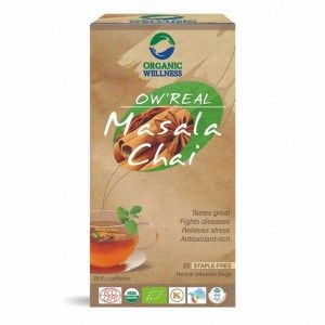 Buy Organic Wellness Real Masala Chai - Nykaa