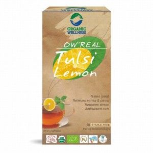 Buy Organic Wellness Real Tulsi Lemon Tea - Nykaa