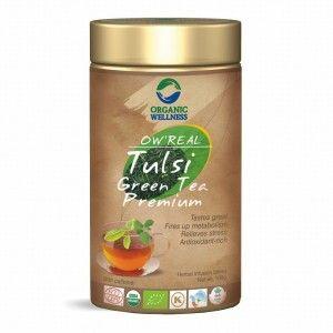 Buy Organic Wellness Real Tulsi Green Tea Premium Tin - Nykaa
