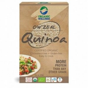 Buy Organic Wellness Zeal Quinoa - Nykaa