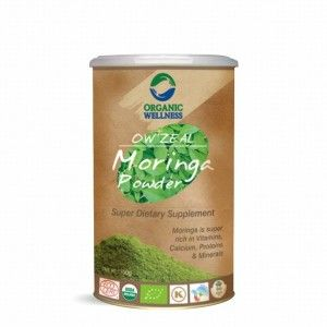 Buy Organic Wellness Zeal Moringa Powder Super Dietary Supplement - Nykaa