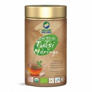 Buy Organic Wellness Real Tulsi Moringa Tea Tin - Nykaa
