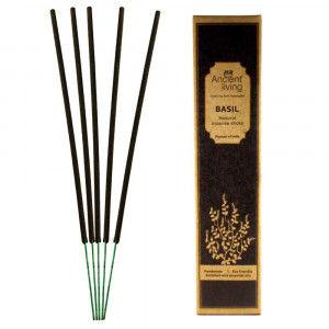 Buy Ancient Living Basil Natural Incense Sticks - Nykaa