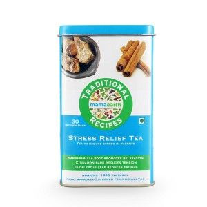 Buy Mamaearth Traditional Recipes Stress Relief Tea - Nykaa