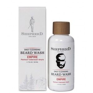 Buy Shepherd For Men Daily Cleansing Beard Wash - Empire - Nykaa