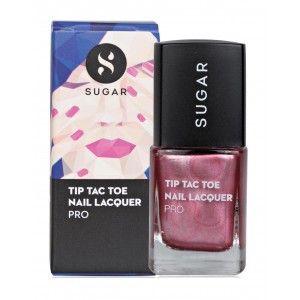 Buy SUGAR Tip Tac Toe Nail Lacquer - Nykaa