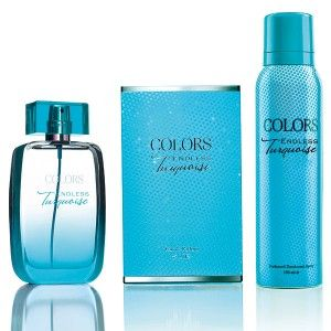 Buy Rebul Colors Endless Turquoise Fragrance Set - Nykaa