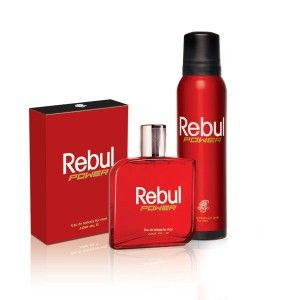 Buy Rebul Power Mens Fragrance Gift Set - Nykaa