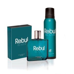 Buy Rebul Blazer Mens Fragrance Gift Set - Nykaa