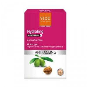Buy VLCC Hydrating Anti Aging Night Cream - Nykaa