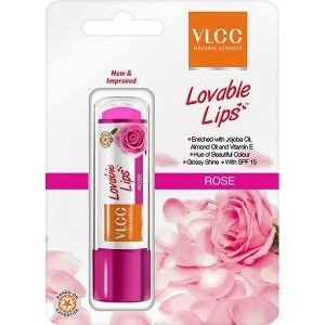 Buy VLCC Rose Lip Balm - Nykaa