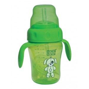 Buy Mee Mee 2 In 1 Spout/Straw Training cup - Green - Nykaa