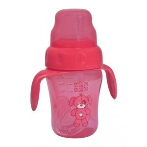 Buy Mee Mee 2 In 1 Spout/Straw Training Cup - Red - Nykaa