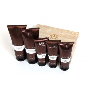 Buy The Man Company Essencia Men'S Grooming Kit Set Of (Face Wash, Body Wash, Hair Gel, Shave Gel and Shampoo) - Nykaa