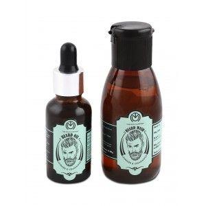 Buy The Man Company Lavender & Cedarwood Beard Oil + Beard Wash Combo - Nykaa